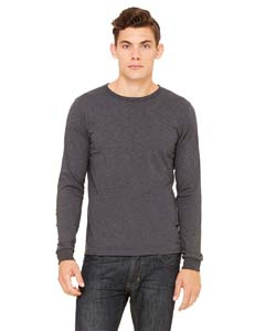 Bella + Canvas 3501U Men's Made in the USA Jersey Long-Sleeve T-Shirt
